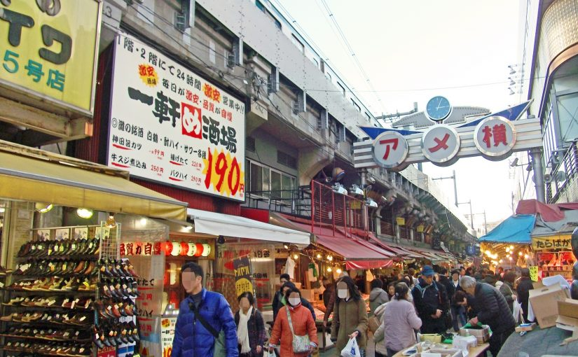 魅力を再確認!上野でまったり飲み歩きデート